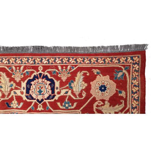 11'12 X 8'72 Antique Handmade Red Sumak Kilim Area Rug Hand woven