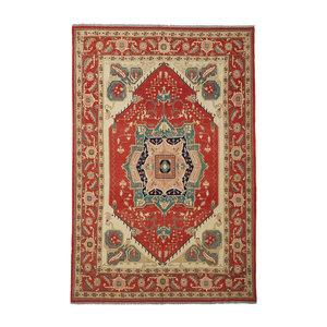 Quality Handmade 13'54 X 10'03 Red Sumak Kilim Area Rug Weave 413X306 cm