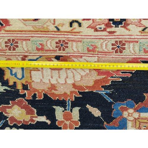 kwaliteit Handgeweven Sumak Kelim 337X267 cm