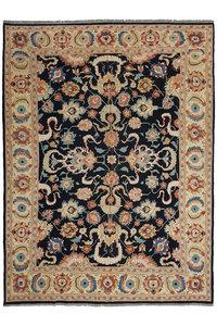 Stylish Multi Colour Handmade 11'05 X 8'75 Sumak Kilim Area Rug 337X267 cm