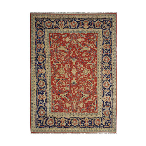 Soumak Multi Colour Handmade 11'08 X 8'69 Sumak Kilim Area Rug wool carpet
