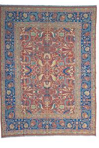 Stylish Handmade 11'15 X 8'79 Sumak Kilim Area Rug Weave 340X268 cm