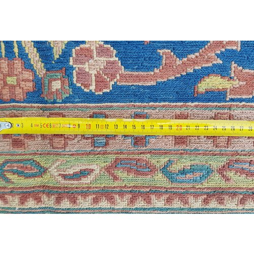 kwaliteit Handgeweven Sumak Kelim 340X268 cm