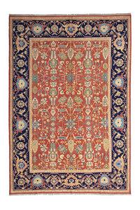 13'45 X 9'90 Antique Handmade Red Sumak Kilim Area Rug wool hand woven