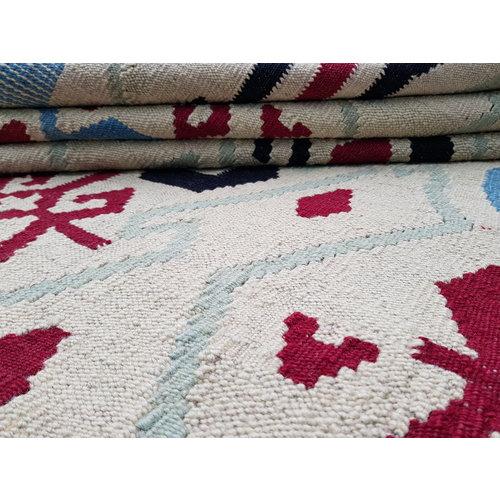 Modern Kilim Rug 9'15x7'70 Hand Weaven Oriental Area Rug Carpet  279X235 cm