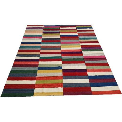 Kelim Modern Teppich  Qualität KelimTraditionell Teppich 291X254 cm