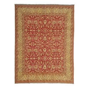 Quality Handmade 10'46 X 8'20 Red SumakKilim Area Rug Weave 319X250 cm
