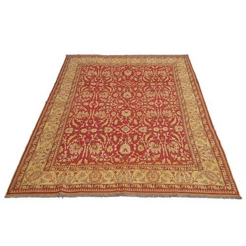 kwaliteit Rood Handgeweven SumakKelim 319X250 cm