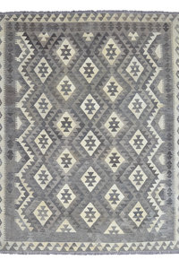 Natural Kelim Teppich 204X163 cm afghan kelim teppich