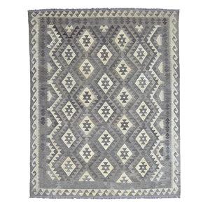 Natural Oriental Hand woven wool kilim Carpet Kilim Rug 6'69X5'34 Teppich