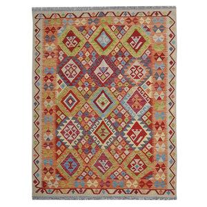 197X150 cm Kelim Teppich  afghan kelim teppich