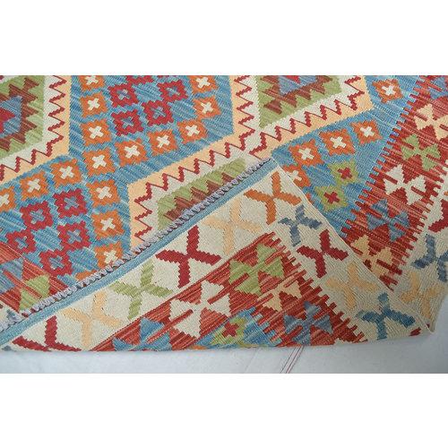 Kelim Kleed 197X145 cm Vloerkleed Tapijt Kelims Hand Geweven