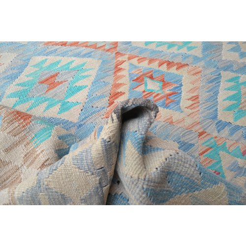 Kelim Kleed 233X164 cm Vloerkleed Kwaliteit Tapijt Kelim Hand Geweven