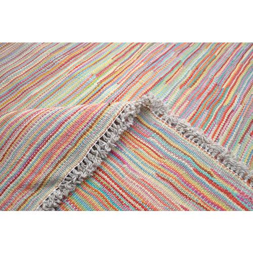 Kelim Kleed 199X150  cm Vloerkleed Tapijt Kelims Hand Geweven