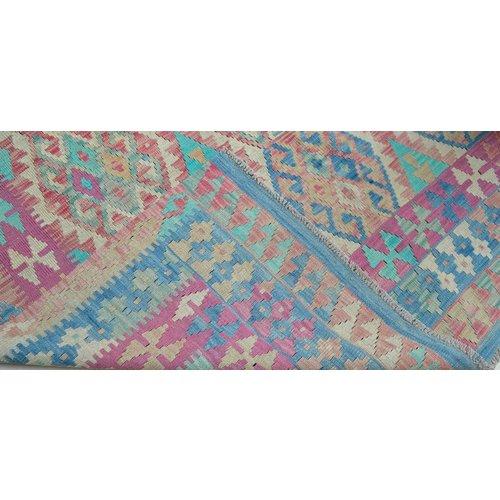 Kelim Kleed 246X175 cm Vloerkleed Kwaliteit Tapijt Kelim Hand Geweven