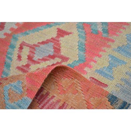 Kelim Kleed 256X146 cm Vloerkleed Kwaliteit Tapijt Kelim Hand Geweven
