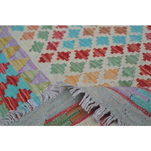 Kelim Kleed 245X163 cm Vloerkleed Kwaliteit Tapijt Kelim Hand Geweven
