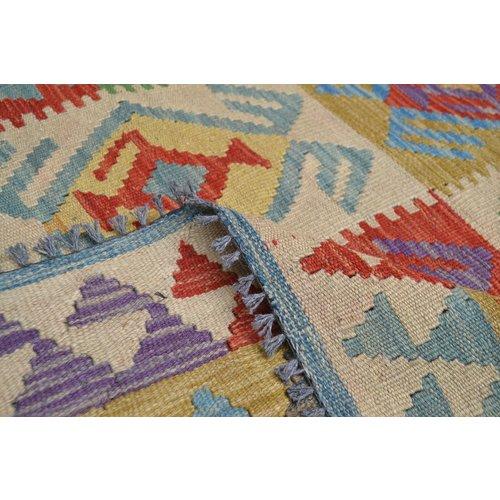 Kelim Kleed 252X151 cm Vloerkleed Kwaliteit Tapijt Kelim Hand Geweven