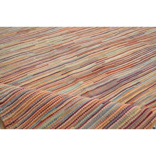 modern stripe line gabbeh Kelim Teppich  200X147 cm afghan kelim teppich