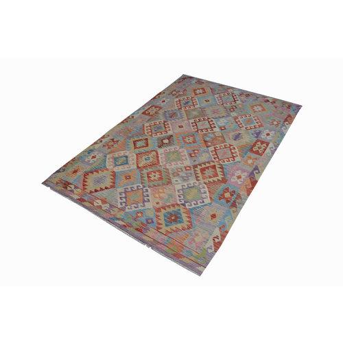 Kelim Kleed 263X163 cm Vloerkleed Kwaliteit Tapijt Kelim Hand Geweven