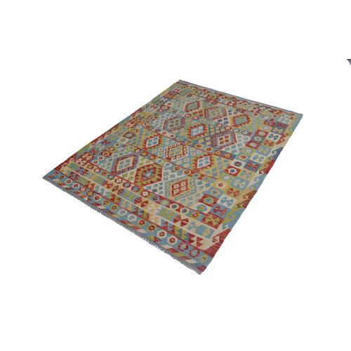 Kelim Kleed 243X180 cm Vloerkleed Kwaliteit Tapijt Kelim Hand Geweven