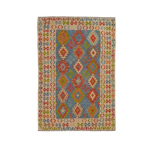 Kelim Kleed 243X175 cm Vloerkleed Kwaliteit Tapijt Kelim Hand Geweven