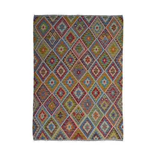 Kelim Kleed 238X171  cm Vloerkleed Kwaliteit Tapijt Kelim Hand Geweven