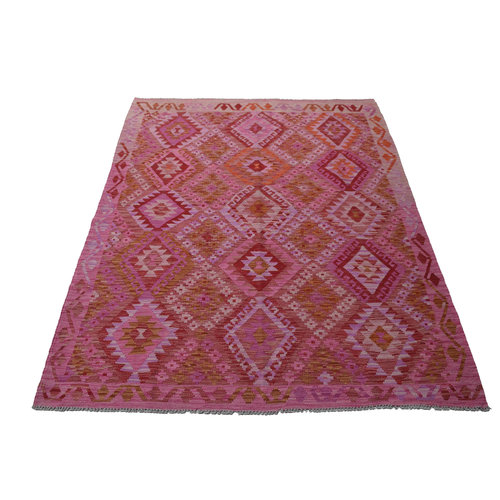 Kelim Teppich 236X177 cm Qualität Handgewebt afghan kelim teppich