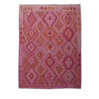 Kelim Kleed 236X177 cm Vloerkleed Kwaliteit Tapijt Kelim Hand Geweven