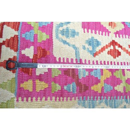 Kelim Kleed 237X186 cm Vloerkleed Kwaliteit Tapijt Kelim Hand Geweven