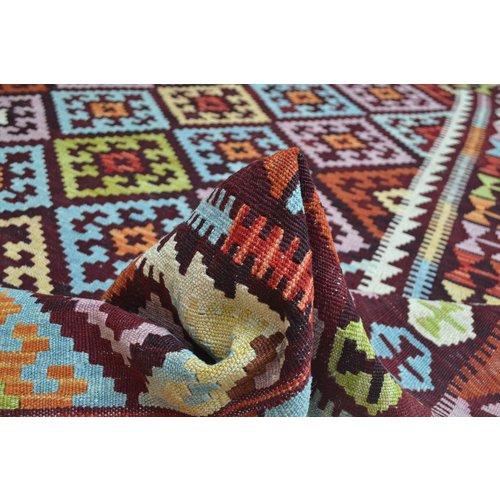 Kelim Kleed 230X180 cm Vloerkleed Kwaliteit Tapijt Kelim Hand Geweven