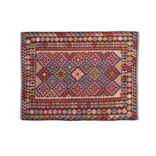 Kelim Kleed 232X178 cm Vloerkleed Kwaliteit Tapijt Kelim Hand Geweven