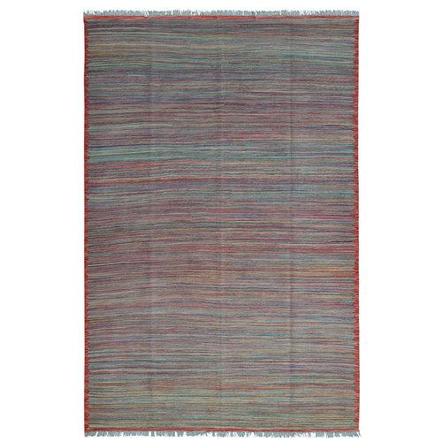 modern stripe design Kelim Kleed 256X170 cm Vloerkleed Kwaliteit Tapijt Hand Geweven
