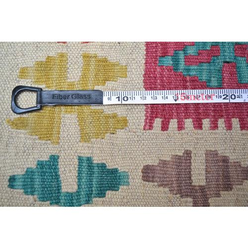 Kelim Kleed 210X140 cm Vloerkleed Tapijt Kelim Hand Geweven