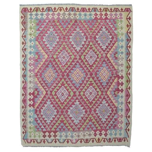Kelim Kleed 192X151 cm Vloerkleed Tapijt Kelim Hand Geweven