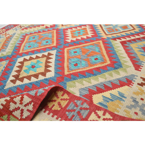 Kelim Teppich 202x150  cm afghan kelim teppich