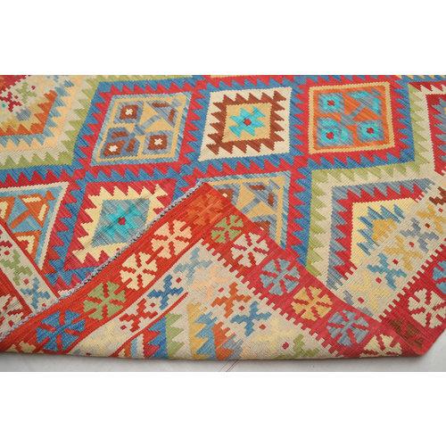 Vloerkleed Tapijt Kelim Kleed Hand Geweven Kelim 202x150  cm