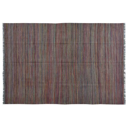 modern Kelim Kleed 245X168 cm Vloerkleed Kwaliteit Tapijt Kelim Hand Geweven