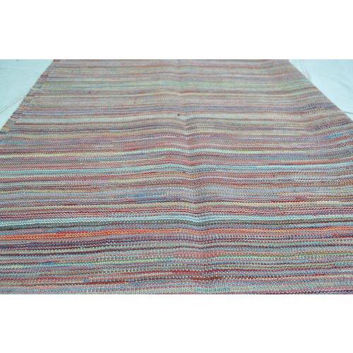 Kelim Kleed 247X175 cm Vloerkleed Kwaliteit Tapijt Kelim Hand Geweven