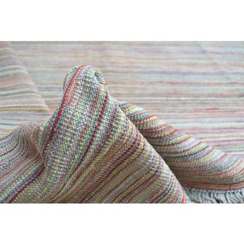 modern Kelim Kleed 243X178 cm Vloerkleed Kwaliteit Tapijt Kelim Hand Geweven