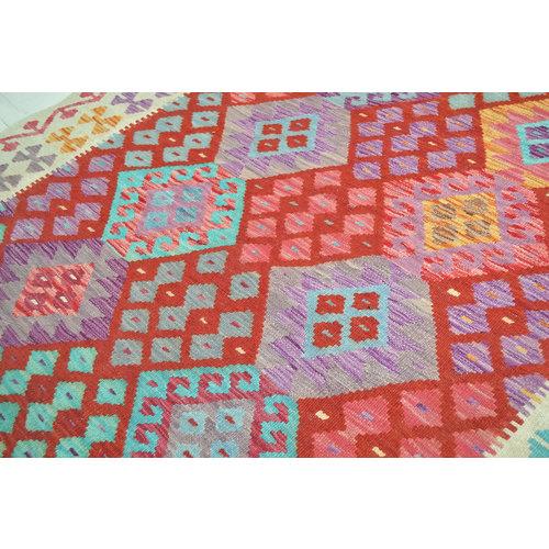 Oriental Hand woven wool kilim Carpet Kelim Rug 6'43X5'05 tapis 196X154 cm
