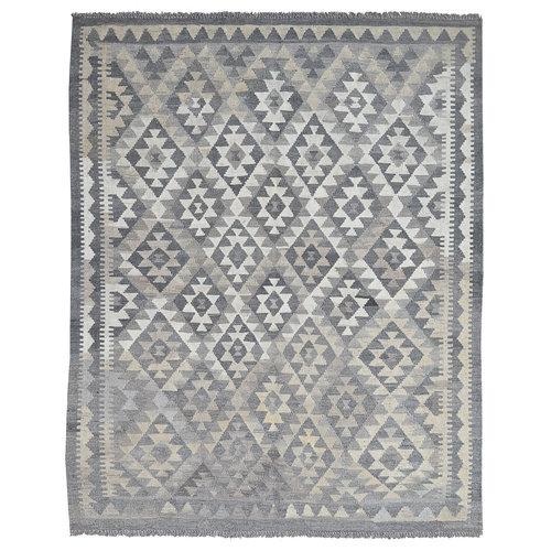 Kelim Kleed 198X157 cm Vloerkleed Tapijt Kelim Hand Geweven