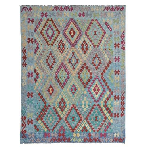 Kelim Kleed 239X182 cm Vloerkleed Kwaliteit Tapijt Kelim Hand Geweven