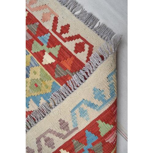 195X147  cm kelim Kleed Vloerkleed Tapijt Kelims Hand Geweven