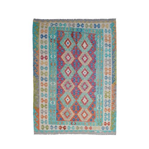 Kelim Teppich 243x178 cm afghan kelim teppich