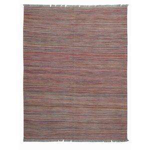 modern Vloerkleed Tapijt Kelim 201x152 cm Kleed Hand Geweven Kelim