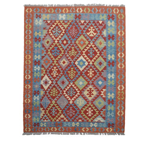 Sheep Quality Wool Hand woven  206x151 cm Afghan kilim Carpet Rug 6'7x4'9 ft