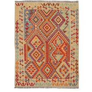 Kelim Teppich 193x146 cm afghan kelim teppich
