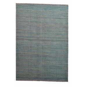 modern stripe  exclusive  Vloerkleed Tapijt Kelim 244x175 cm Kleed Hand Geweven Kilim