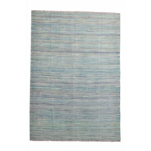 exclusive  Vloerkleed Tapijt Kelim 248x177 cm Kleed Hand Geweven Kilim